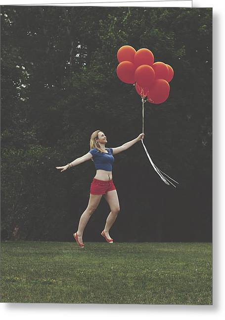 Super Girl Photographs Greeting Cards - If Supergirl needed help Greeting Card by Andrew Ramdat