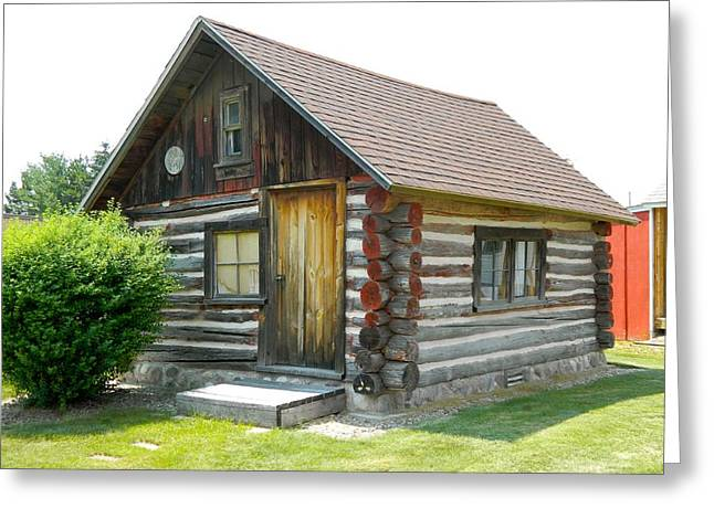 Log Cabins Greeting Cards - If Walls Could Talk Greeting Card by Randy Rosenberger