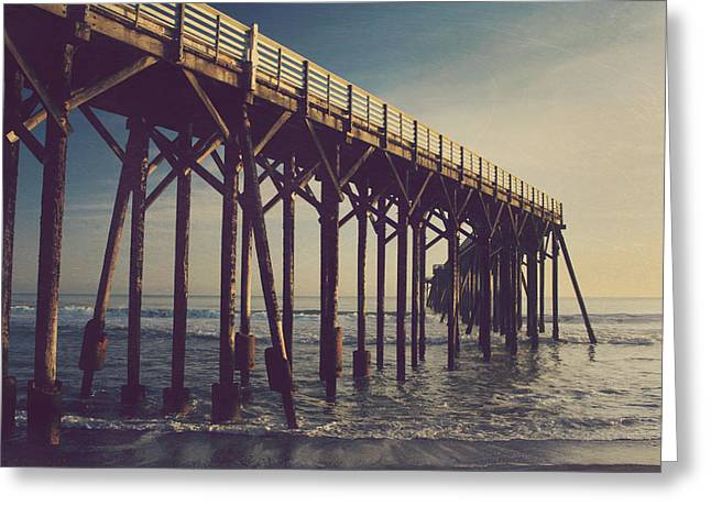 Pier Digital Greeting Cards - If We Find Ourselves in Love Again Greeting Card by Laurie Search