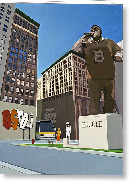 Hip-hop Greeting Cards - If You Dont Know Now You Know Greeting Card by Scott Listfield