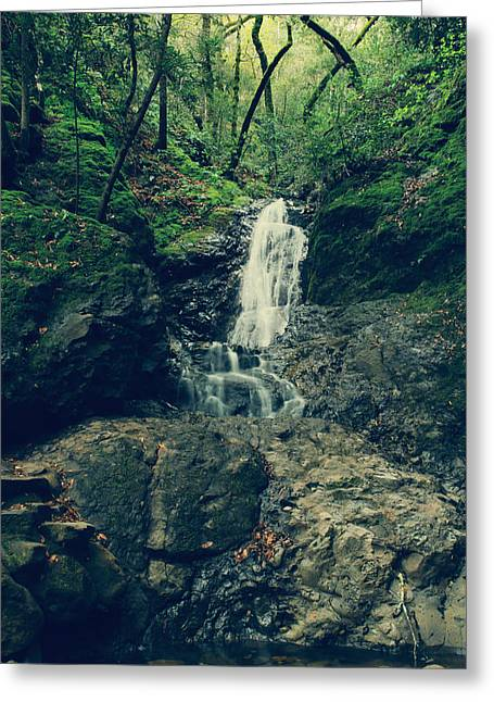Falling Water Creek Greeting Cards - If You Loved Me Greeting Card by Laurie Search