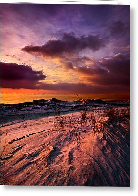Lake Photographs Greeting Cards - If You See Through My Eyes Greeting Card by Phil Koch
