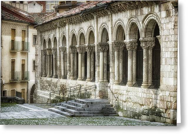 Iglesia De San Millan Greeting Card by Joan Carroll