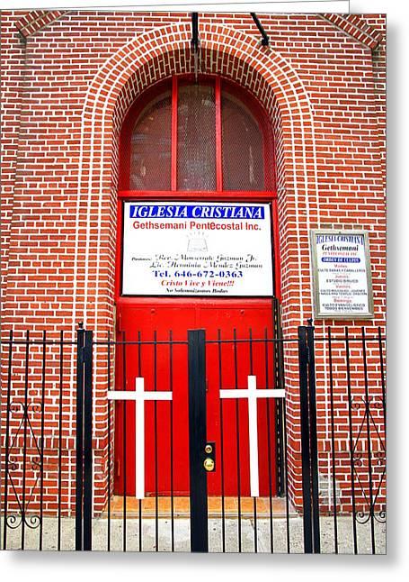Reform Greeting Cards - Iglesia Pentecostal Greeting Card by Valentino Visentini