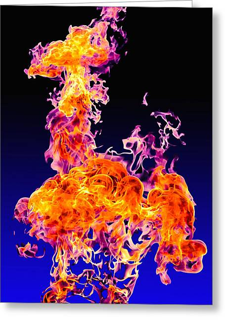 Pyrotechnics Greeting Cards - Ignite Greeting Card by Brian Stevens