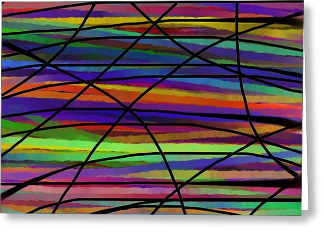 Abstract Digital Drawings Greeting Cards - Ihre Meinung  Greeting Card by Sir Josef  Putsche