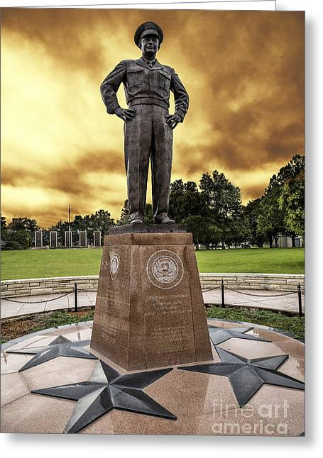 The Cost Of War Greeting Cards - Ike Greeting Card by Jon Burch Photography