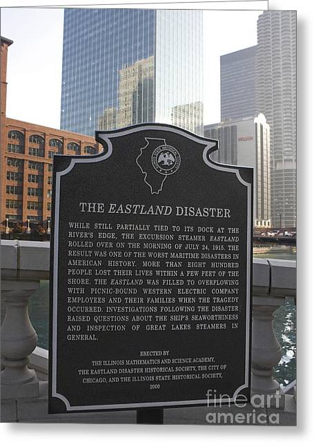 The Interests Of Society Greeting Cards - IL001 - The Eastland Disaster Greeting Card by Jason O Watson
