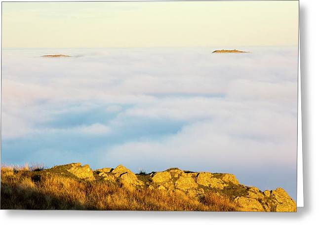 Ill Bell And The Kentmere Fells Greeting Card by Ashley Cooper