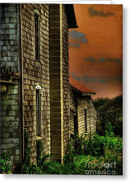 Abandoned Houses Greeting Cards - Ill Take Everything Greeting Card by Lois Bryan