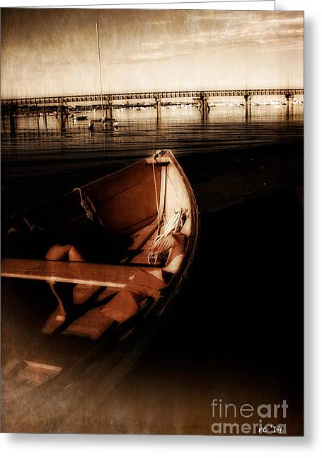 Ptown Greeting Cards - Ill Watch The Bridge Tonight... Greeting Card by Rene Crystal