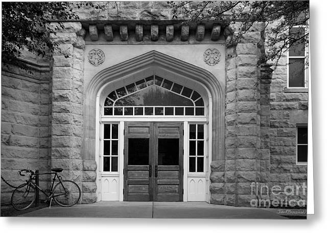 Illinois State University Cook Hall Greeting Card by University Icons