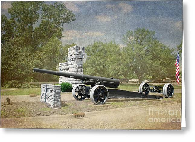 Proclamation Greeting Cards - Illinois Veterans Home Entry - Luther Fine Art Greeting Card by Luther   Fine Art