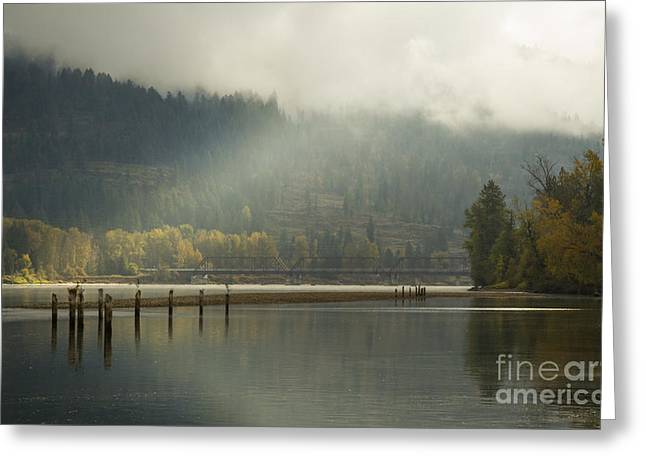 North Fork Greeting Cards - Illuminated Greeting Card by Idaho Scenic Images Linda Lantzy