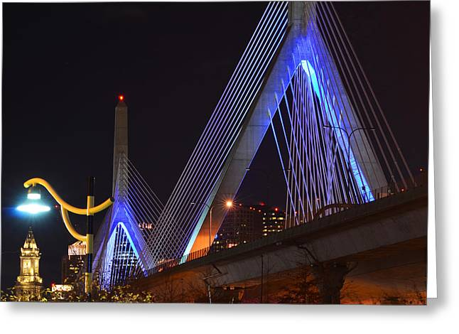 Boston Ma Greeting Cards - Illuminating Boston Greeting Card by Toby McGuire