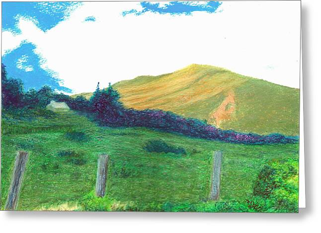 Quality Pastels Greeting Cards - Illumination Greeting Card by Jim Ditto