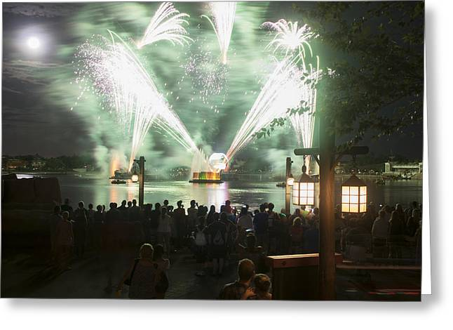 Best Sellers -  - Pyrotechnics Greeting Cards - Illuminations II Greeting Card by Jeffrey Miklush