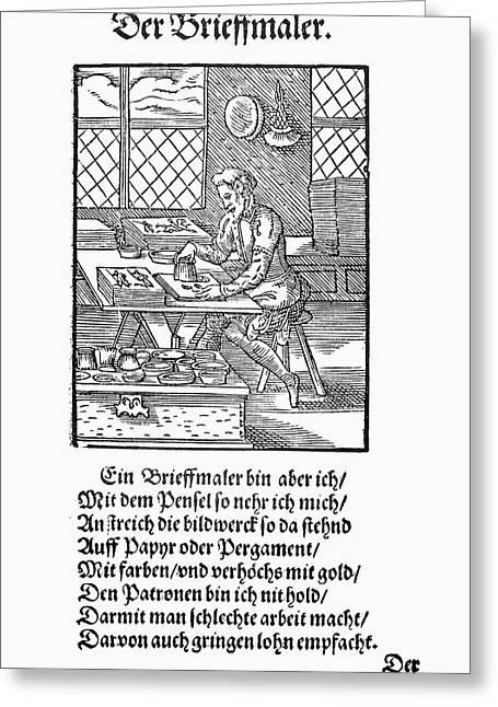 Illuminator, 1568 Greeting Card by Granger