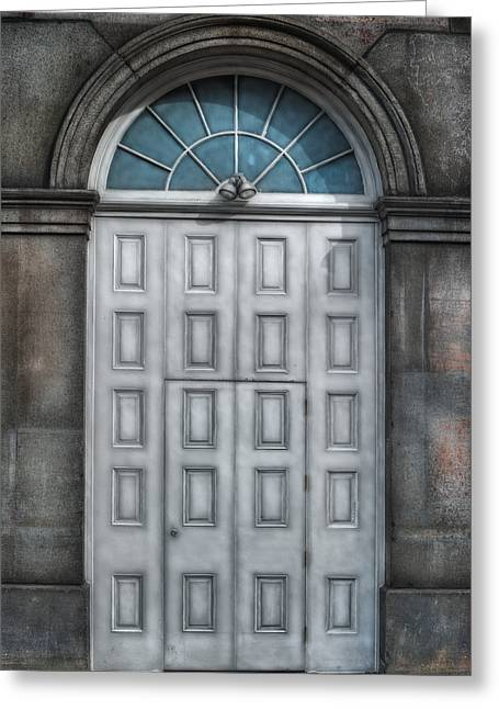 French Quarter Doors Greeting Cards - Illusion Greeting Card by Brenda Bryant