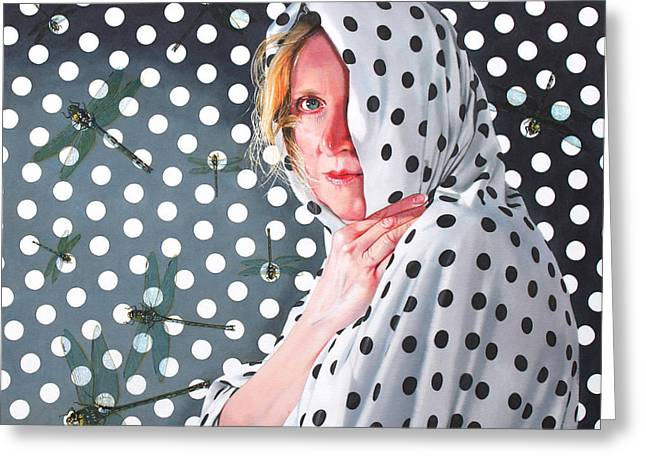 Hyper-realism Greeting Cards - Illusion Greeting Card by Denny Bond