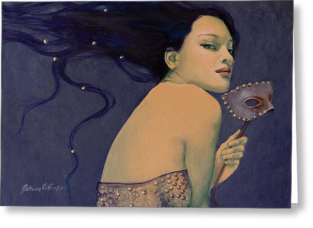 Love Laces Greeting Cards - Illusory Greeting Card by Dorina  Costras