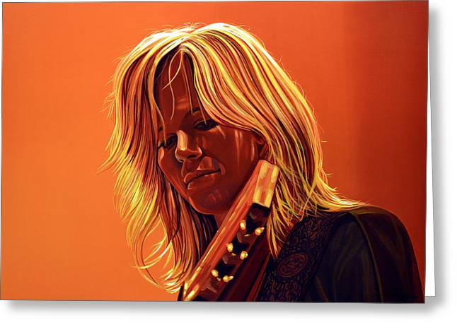 Ilse Delange Painting Greeting Card by Paul Meijering
