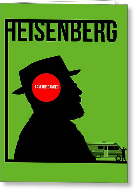 Breaking Bad Greeting Cards - Im Danger Poster 1 Greeting Card by Naxart Studio