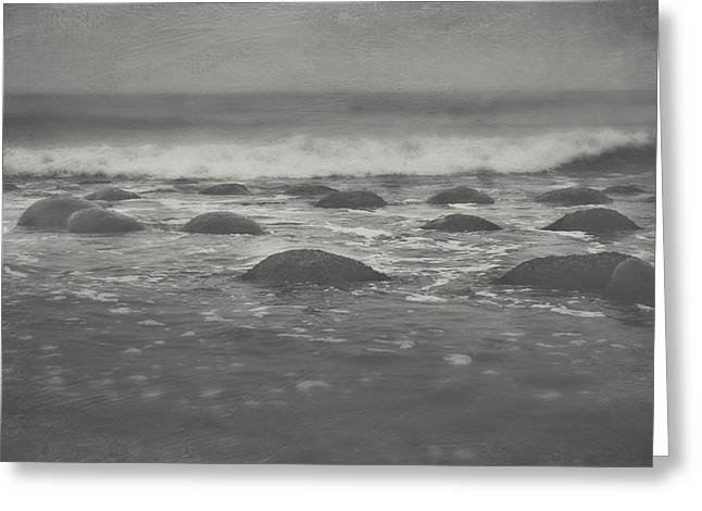 Waves Splash Greeting Cards - Im Going Under Greeting Card by Laurie Search