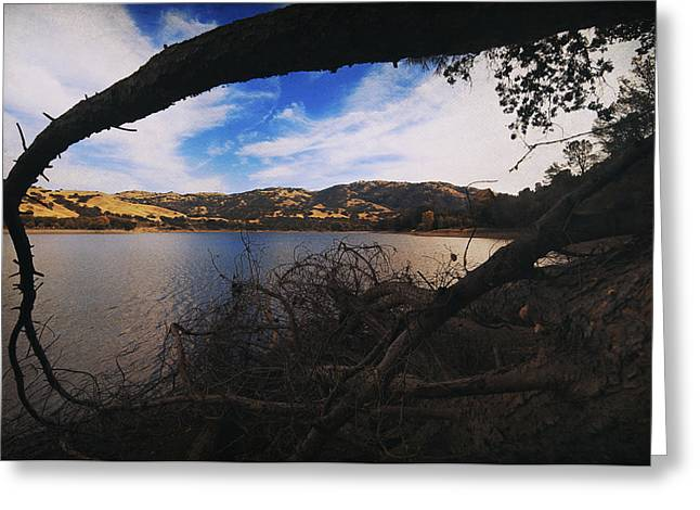 Lakes Digital Greeting Cards - Im Here if You Fall Greeting Card by Laurie Search
