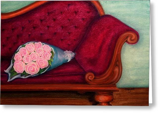 Renoir Pastels Greeting Cards - Im Not Renoir Greeting Card by Catherine Howley