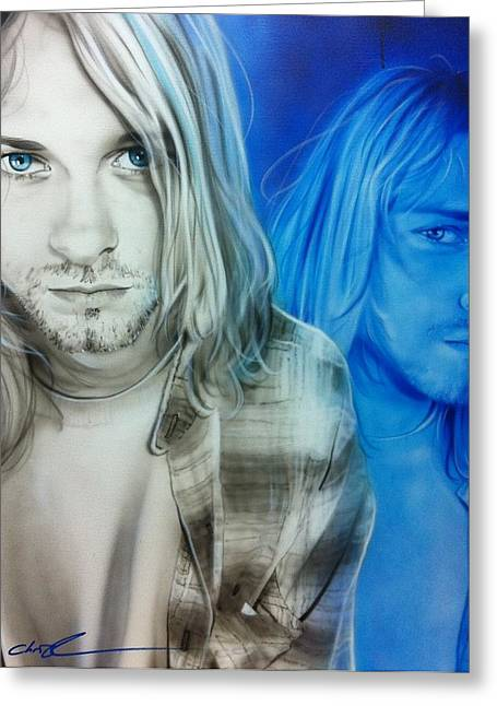Kurt Greeting Cards - Im Real Good at Hating Greeting Card by Christian Chapman Art