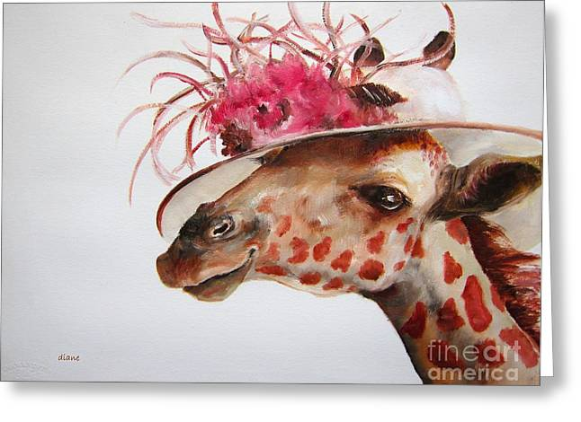 Diane Kraudelt Greeting Cards - Im So Pretty Greeting Card by Diane Kraudelt