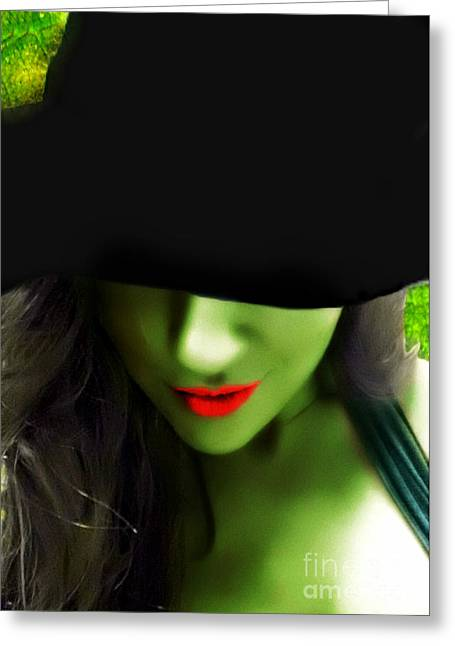 Wicked Witch Of The West Greeting Cards - Wicked  Greeting Card by Nicole  Miinch