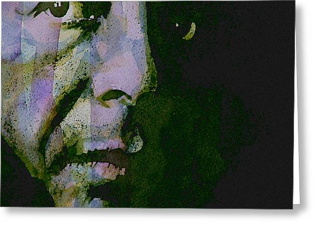 Singer Paintings Greeting Cards - Im Your Man Greeting Card by Paul Lovering