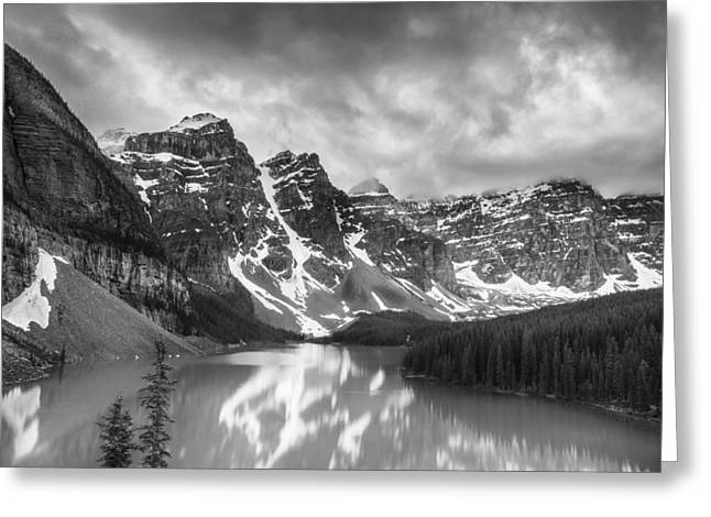 Imaginary Waters II Greeting Card by Jon Glaser
