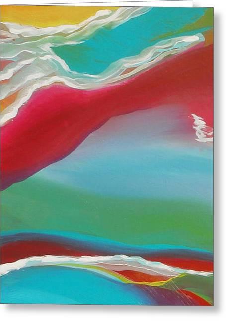 Brain Paintings Greeting Cards - Imagination 1 Greeting Card by Karyn Robinson