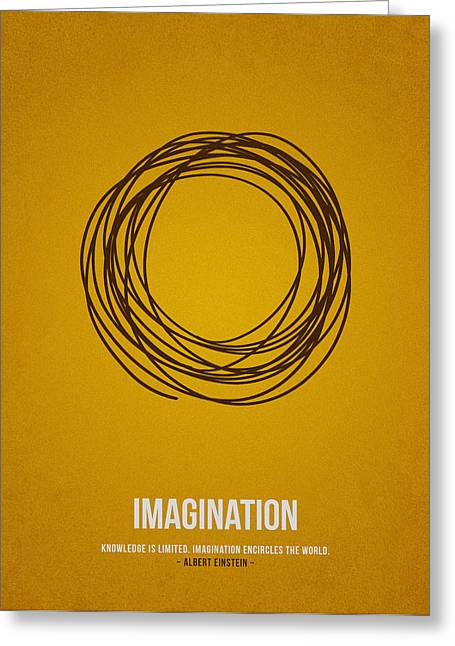 Innovation Greeting Cards - Imagination Greeting Card by Aged Pixel