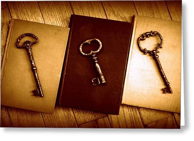 Diane Reed Greeting Cards - Imagination Unlocked Greeting Card by Diane Reed