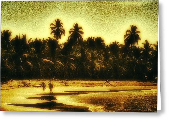Lahaina Greeting Cards - Afternoon Walk Greeting Card by Stacy Vosberg