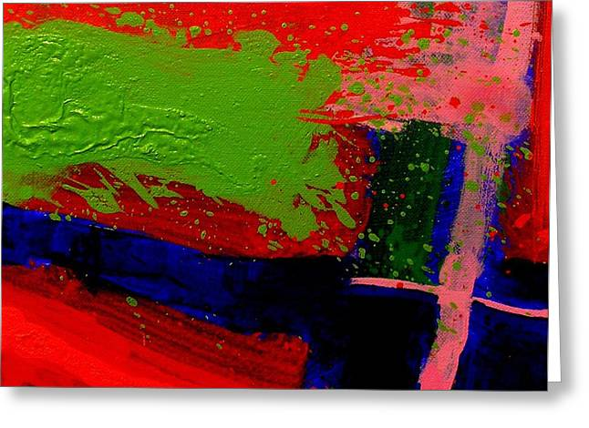 Expressionistic Greeting Cards - Imma   Iii Greeting Card by John  Nolan