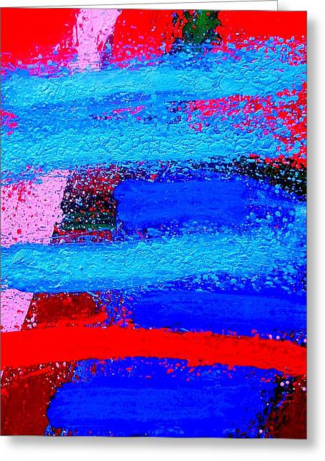 Abstract Movement Greeting Cards - Imma   Iv Greeting Card by John  Nolan
