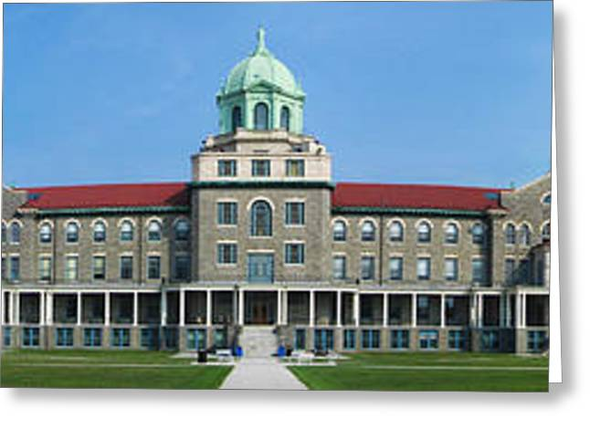 Pennsylvania State University Greeting Cards - Immaculata University Greeting Card by Nomad Art And  Design