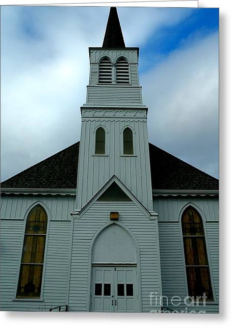 Wentzville Greeting Cards - Immanuel Lutheran Church III Greeting Card by Bob Fromm