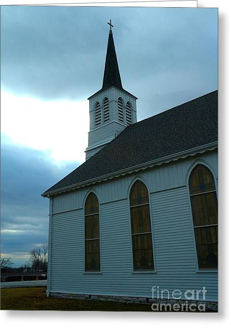 Wentzville Greeting Cards - Immanuel Lutheran Church V Greeting Card by Bob Fromm