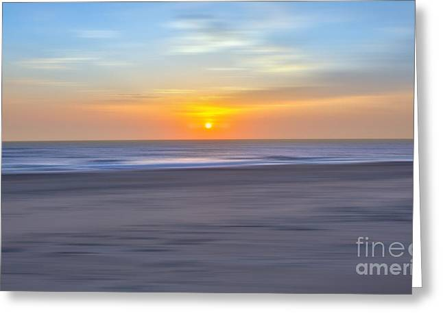 Pea Island Greeting Cards - Imminent Light - a Tranquil Moments Landscape Greeting Card by Dan Carmichael