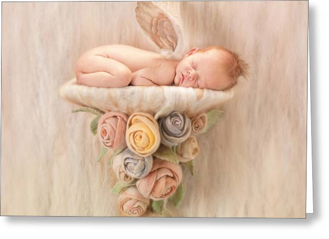 Children Greeting Cards - Imogen Greeting Card by Anne Geddes