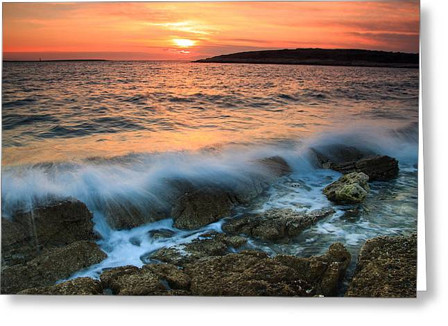 Impacting Greeting Cards - Impact Greeting Card by Davorin Mance