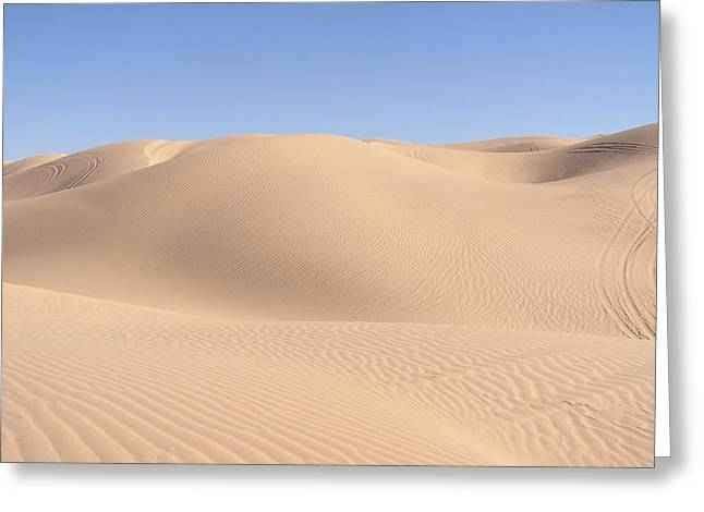 """""""sand Dunes Greetings Card"""" Greeting Cards - Imperial Sand Dunes Greeting Card by Jewels Blake Hamrick"""