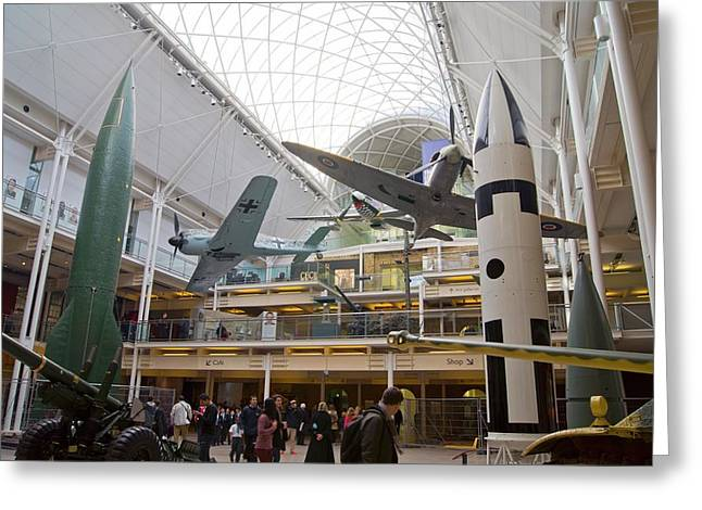 Imperial War Museum Greeting Card by Mark Williamson