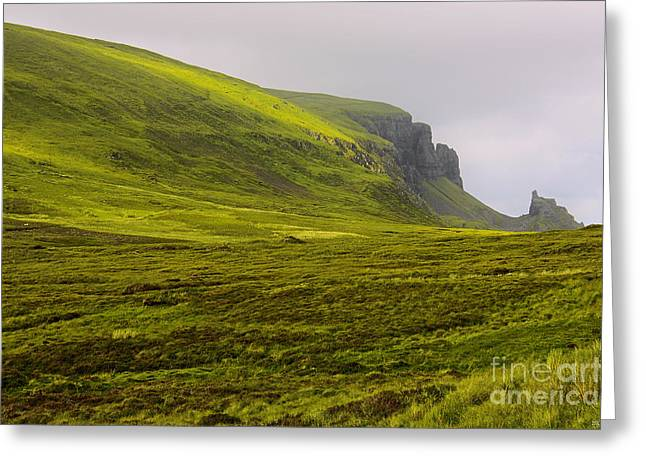 Inseln Greeting Cards - impressions of scotland - quiraing I Greeting Card by Meleah Fotografie